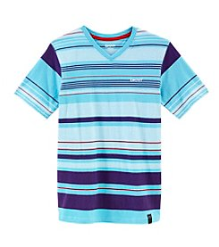 DKNY® Boys' 8-20 Short Sleeve Street Striped Tee