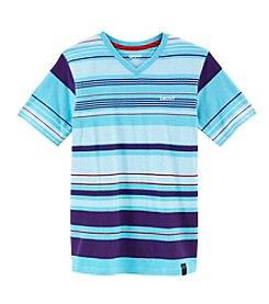 DKNY® Boys' 8-20 Short Sleeve Street Striped Tee
