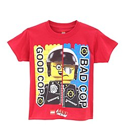 LEGO® Boys' 4-16 Good Cop Bad Cop Tee