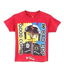 LEGO® Boys' 4-16 Good Cop Bad Cop Tee