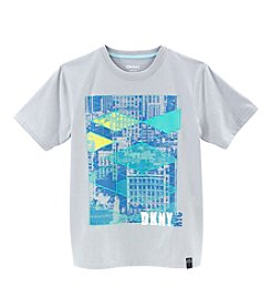 DKNY® Boys' 2T-20 Short Sleeve Geo City Tee