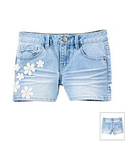 Squeeze® Girls' 7-14 Diana Wash Crochet Shorts