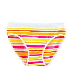Maidenform® Girls' XS-XL Seamless Warm Striped Hipster