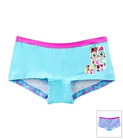 Maidenform® Girls' XS-XL Owl Boyshorts