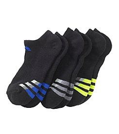 adidas® Boys' 3-Pack No Show Socks