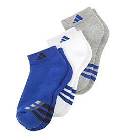 adidas® Boys' 3-Pack Low Cut Socks