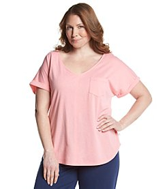 KN Karen Neuburger Plus Size Plus Size Sleep Tee