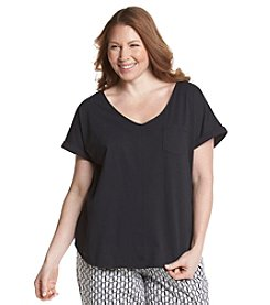KN Karen Neuburger Plus Size Sleep Tee