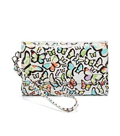 Relativity® Butterfly Print Midi Cell Wristlet