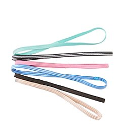 Exertek® 6 Pack Assorted Active Hairbands - Pastel