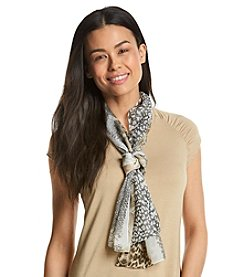 Basha Animal Textures Oblong Scarf