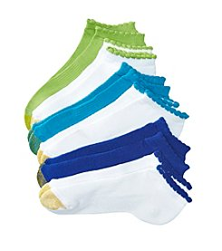 GOLD TOE® 6 Pack Low Picot Socks