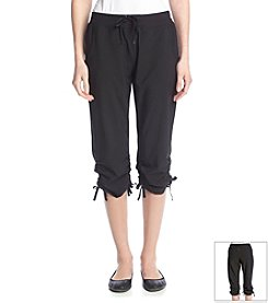 Marc New York Performance Crop Pant With Adjustable Waist