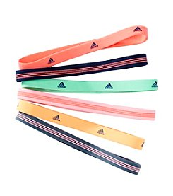 adidas® 6 Pack Logo Hairbands
