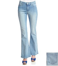 NYDJ® Faded Flared Jeans