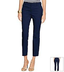 Lauren Ralph Lauren® Skinny Cropped Sateen Pants