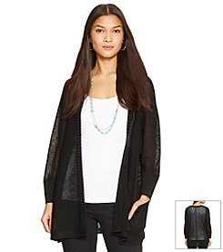 Lauren Ralph Lauren® Open Cropped-Sleeve Cardigan
