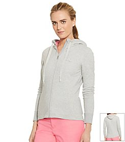 Lauren Active® Full-Zip Stretch-Cotton Hoodie