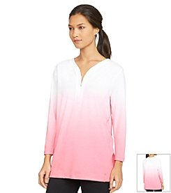 Lauren Active® Ombre Half-Zip Shirt