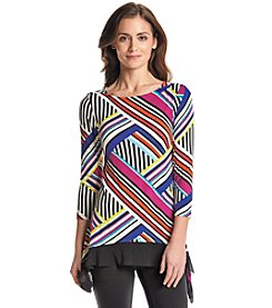 Cupio Stripe Patch Tunic