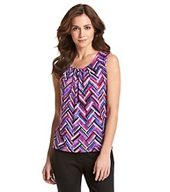 Kasper® Pleat Neck Cami