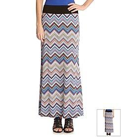 Karen Kane® Miami Zig Zag Maxi Skirt