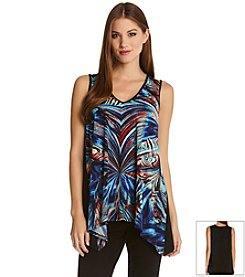Karen Kane® Miami Morage V-Neck Top