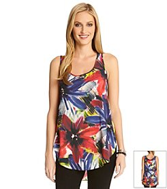 Karen Kane® Shirttail Tank Top