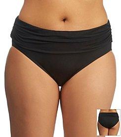 Lauren Ralph Lauren® Plus Size Laguna Banded Hipster Bottom