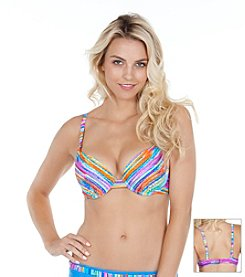 Maidenform® Wave Runner Bra Swim Top