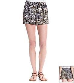 Jessica Simpson Petra Leopard Soft Short