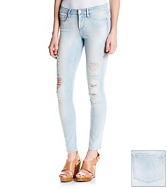 Jessica Simpson Super Skinny Destructed Jeans