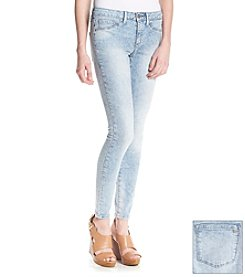 Jessica Simpson Super Skinny Streaky Acid Jeans