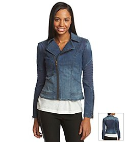 Sam Edelman™ Asymmetrical Denim Jacket