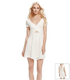 Jessica Simpson Kaitlee Fit And Flare Dress