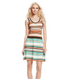 Jessica Simpson Florence Stripe Sweater Dress