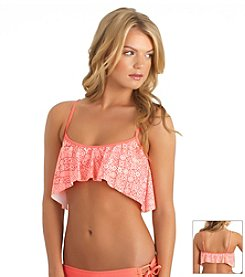 Reef® Desert Bloom Swim Crop Top
