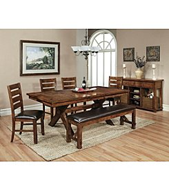 Whalen Furniture Vineyard Dining Collection