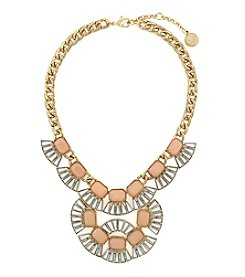Jessica Simpson Goldtone Drama Stone Necklace