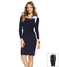 Lauren Ralph Lauren® Two Toned Day Dress