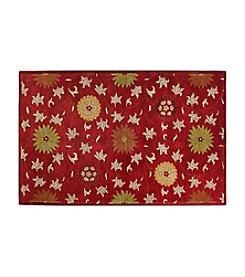 Bashian Wilshire RED-HG120 Area Rug