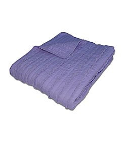 Greenland Home® Ruffle Lavender Throw