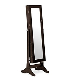 Baxton Studios Brown Wessex Floor Mirror