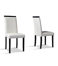 Baxton Studios Milano Set of 2 Dining Chairs