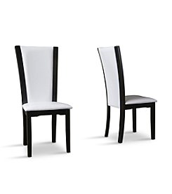Baxton Studios Rinko Parson Set of 2 Dining Chairs