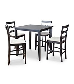 Baxton Studios Seville 5-pc Counter Height Dining Set