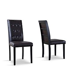Baxton Studios Somerset Set of 2 Dining Chairs