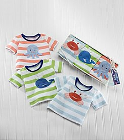 Baby Aspen 3-Piece Deep Sea T-shirts