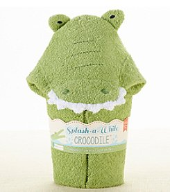 Baby Aspen Crocodile Hooded Spa-Towel
