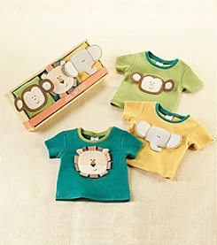 Baby Aspen 3-Piece Safari Friends T-shirts
